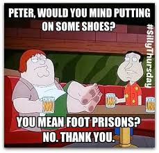 barefoot funny