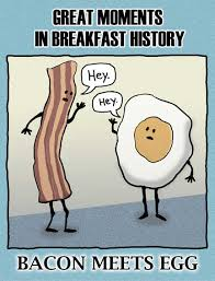 bacon meets egg