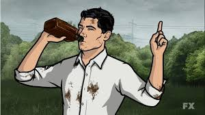 archer drinking
