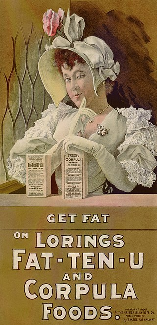 320px-Advertisement_showing_young_woman_with_package_of_Loring's_Fat-Ten-U
