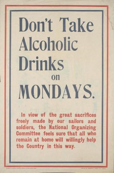 don27t_take_alcoholic_drinks_on_mondays_poster