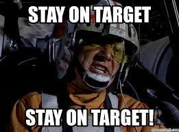 sw stay on target