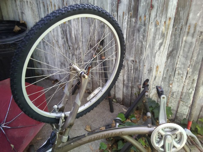 2 - First ever bike tire