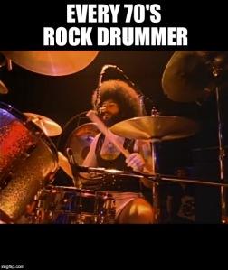 70s drummer