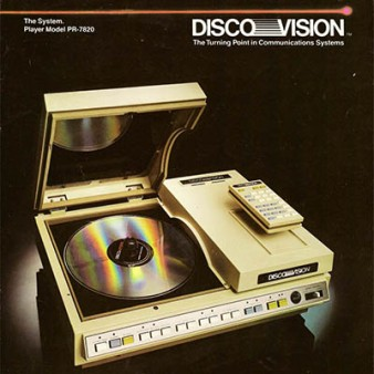 DiscoVision LaserDisc player, 1978