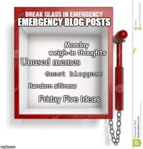emergency blog meme