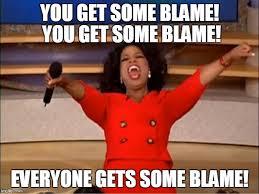 blame oprah