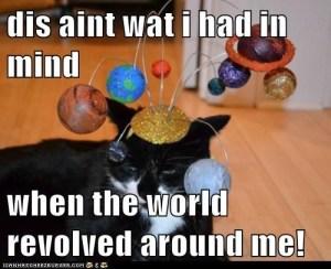 world revolves
