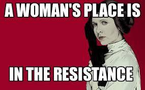 woman resistance