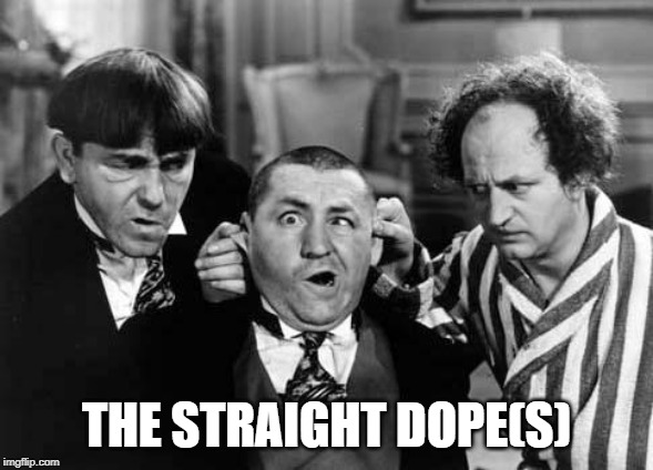 straight dopes 3 stooges