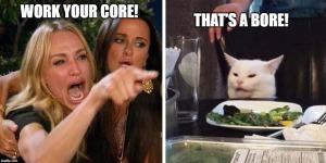 core bore