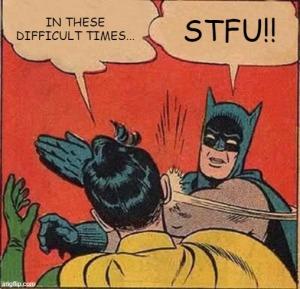 batman robin challenging times