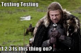 testing 123 viking